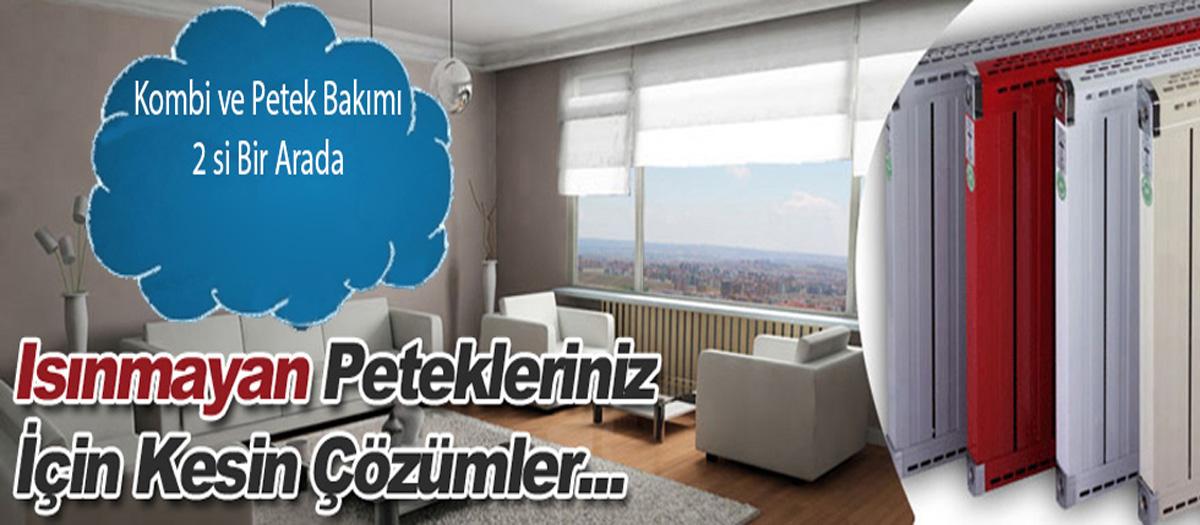 Ankara Kombi Petek Temizliği ve kombi bakımı